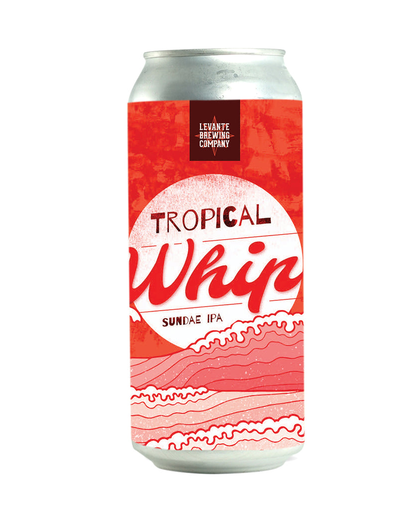 Tropical Whip (Strawberry Sundae) - Milkshake IPA