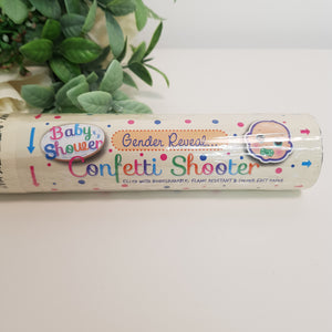 Gender Reveal Baby Shower Confetti Shooter