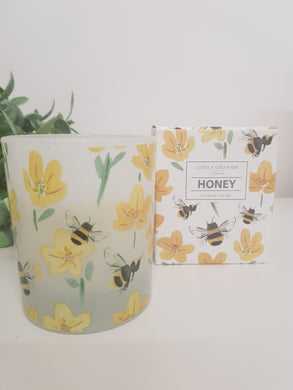 Bee and Buttercup Large Candle