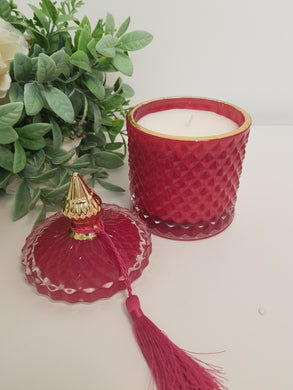 Velvet Rose and Oud Large Candle
