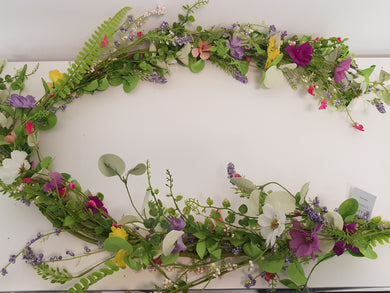 Artificial Silk Wild Flowers Garland