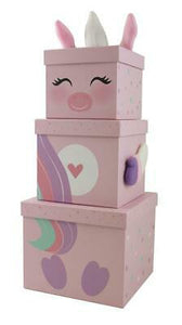 Large Unicorn Stacking Box