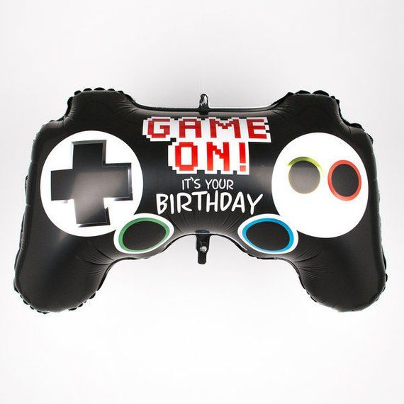 Game On! Its Your Birthday Gaming Controller Balloon