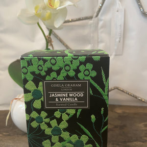 Jasmine Wood & Vanilla Candle