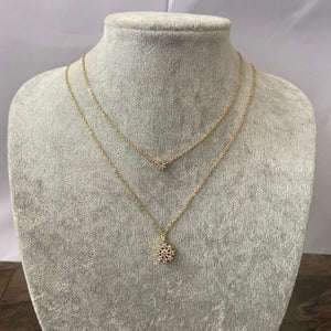 Gold SNO Necklace Set