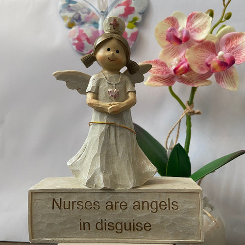 Nurses Are Angels In Disguise Ornament