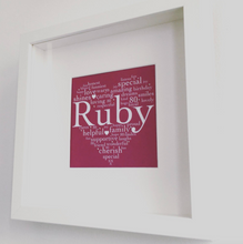 Personalised Wedding Anniversary Framed Prints