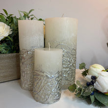 White and Silver Candles