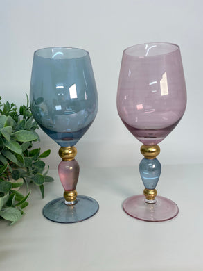 Elegant Wine Glasses (Set of 2 boxed)