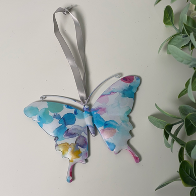 Bright Hanging Butterfly