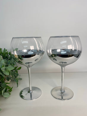 Silver Gin Glasses (set 2)