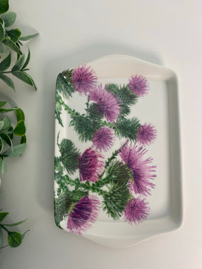 Small Thistle Serving Tray