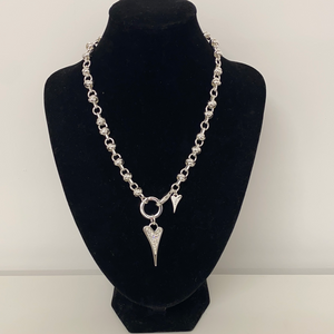 Miss Dee Silver Knot Chain Necklace (2 Lengths Available)