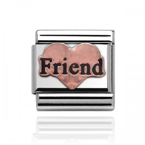 Charmlinks Rose Gold Friend Charm