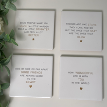 Friendship Coasters (4 Designs)
