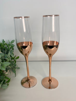 Rose Gold Flutes (set 2)