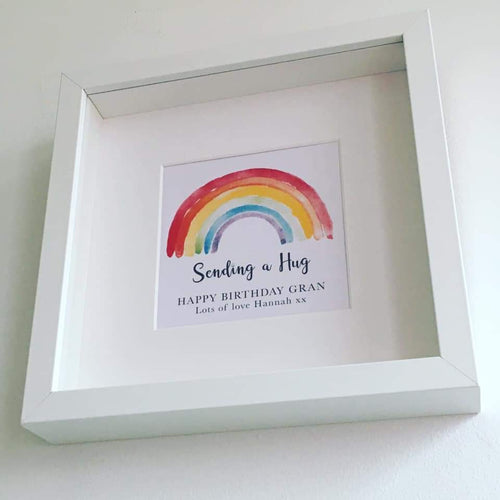 Personalised Rainbow Framed Prints
