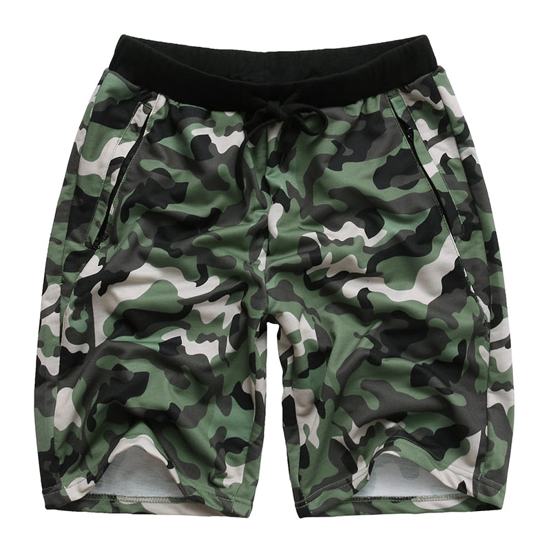 INCERUN Gyms Bodybuilding Workout Joggers Camouflage Shorts Men Military  Short Pants Camouflage Camo Casual Men's Shorts