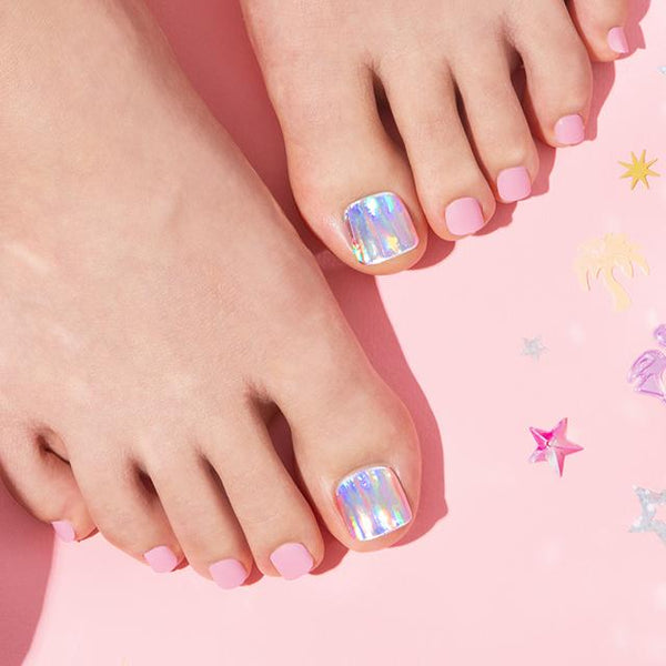 [Press on Pedicure] Pink Festival