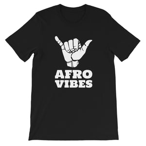 Short-Sleeve Unisex AfroVibes Only T-Shirt