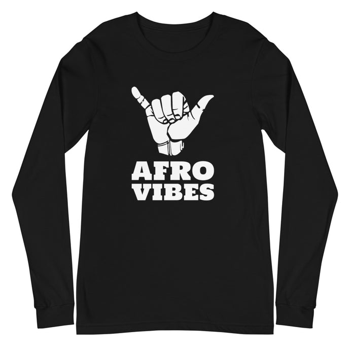 AfroVibes Only Unisex Long-Sleeve Tee