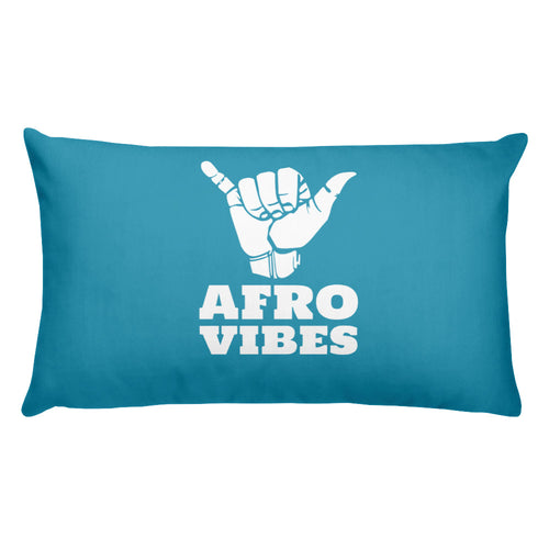 Basic AfroVibes Blue Pillow