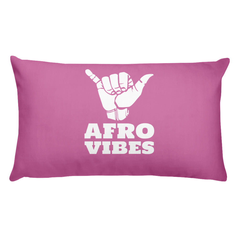 Basic AfroVibes Pink Pillow