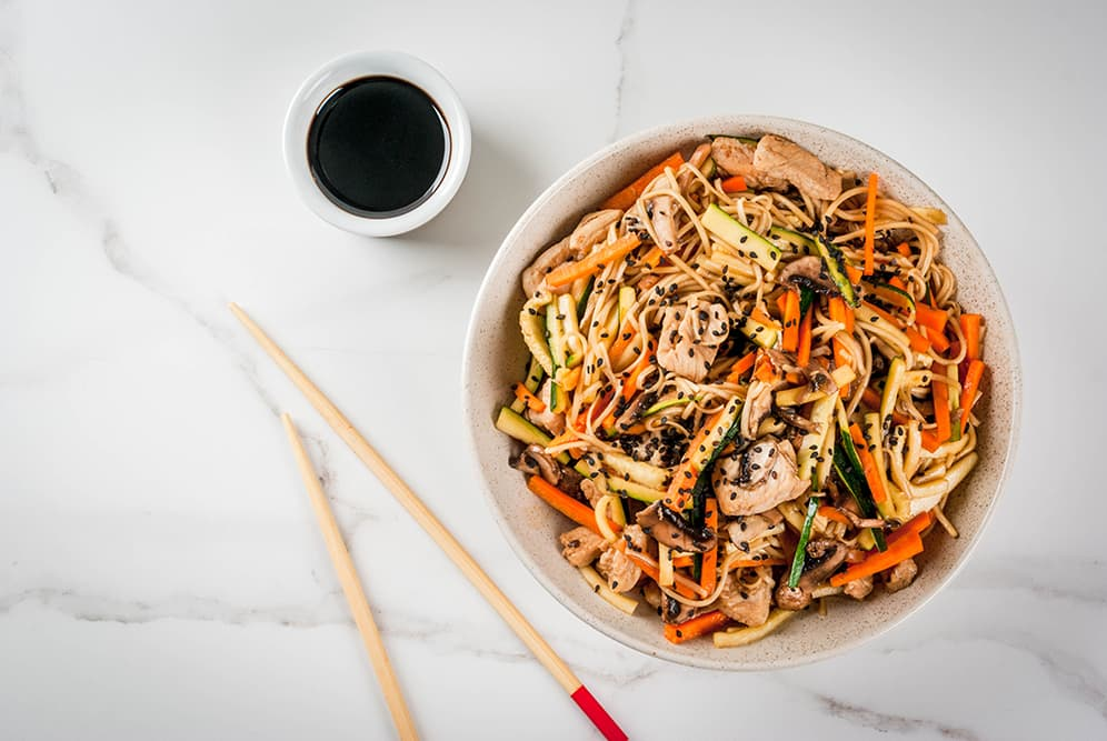 Quick, Tasty Dinners to Try at Home - vegetarian stir-fry