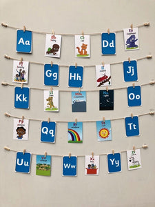 Akili's Alphabet Flash Cards (English)