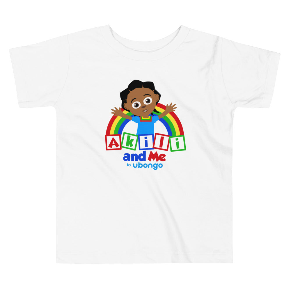 Akili and Me Logo Toddler Short Sleeve Tee