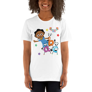 Short-Sleeve Unisex Adults' T-Shirt - Akili abc's