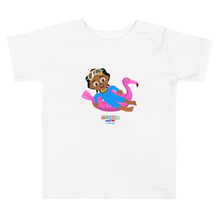 Load image into Gallery viewer, 'Akili at the pool' Toddler Short Sleeve Tee