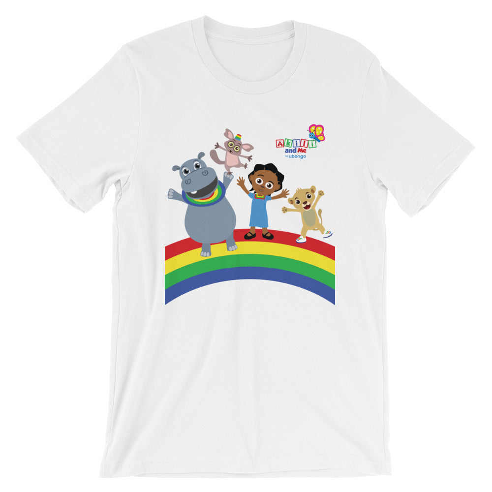 Short-Sleeve Unisex Adults' T-Shirt - Akili and Friends