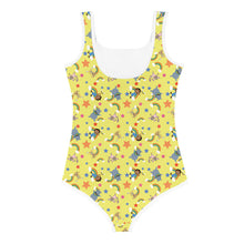 Load image into Gallery viewer, Akili Yellow Kids Swimsuit