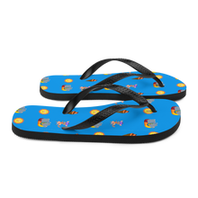 Load image into Gallery viewer, Happy hippo Flip-Flops
