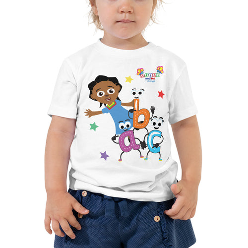 Akili & abc Short Sleeve Toddler Tee