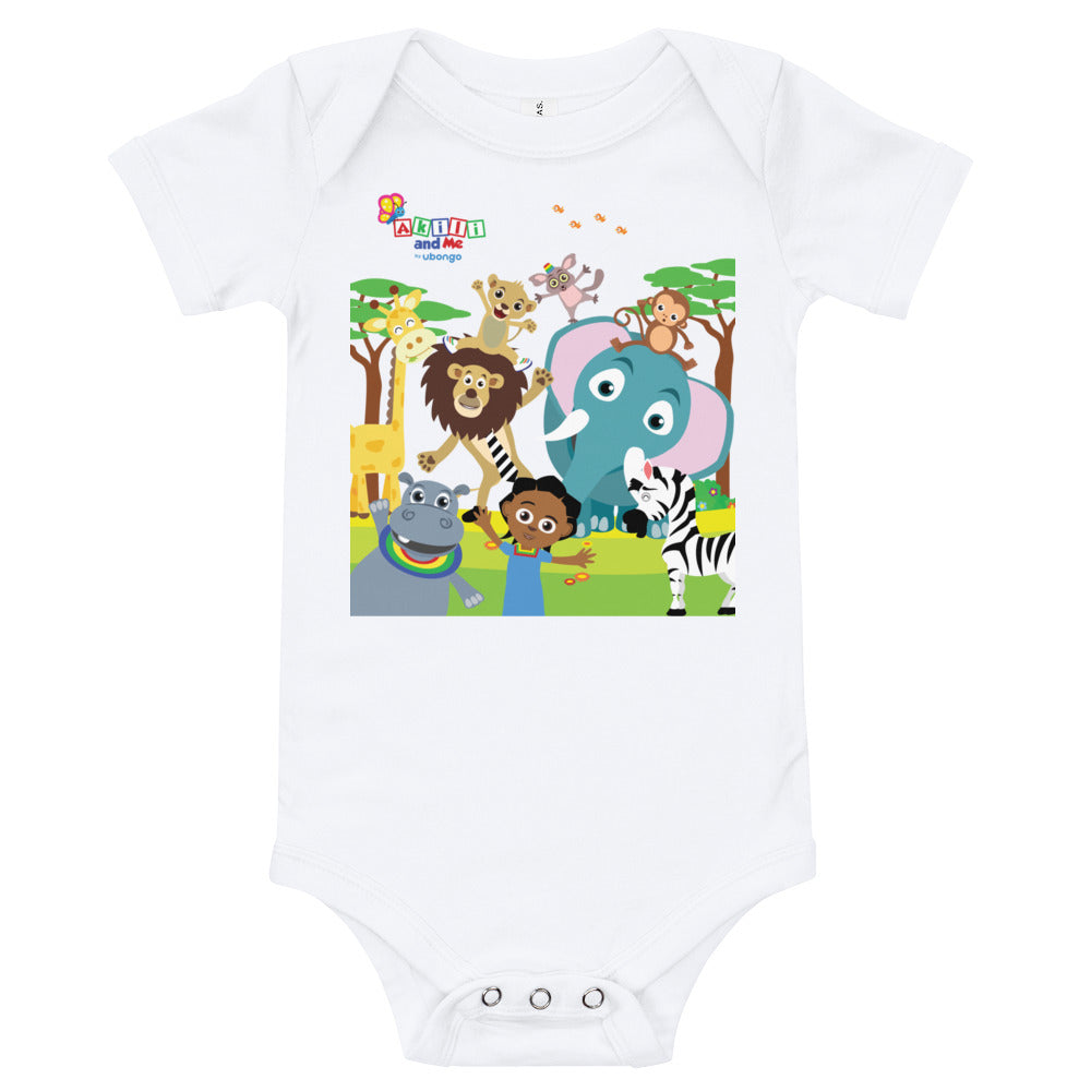 Animal Safari Babysuit