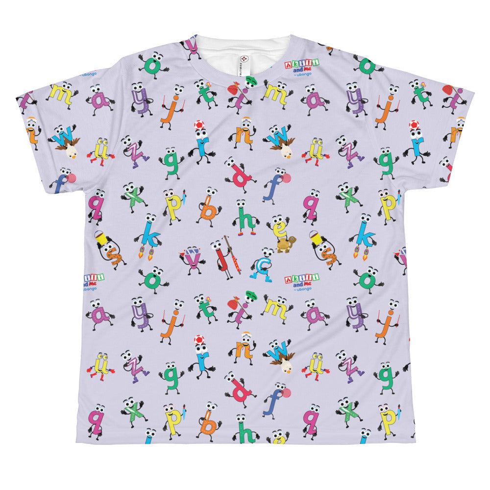 Akili's Alphabet Print Youth T-shirt