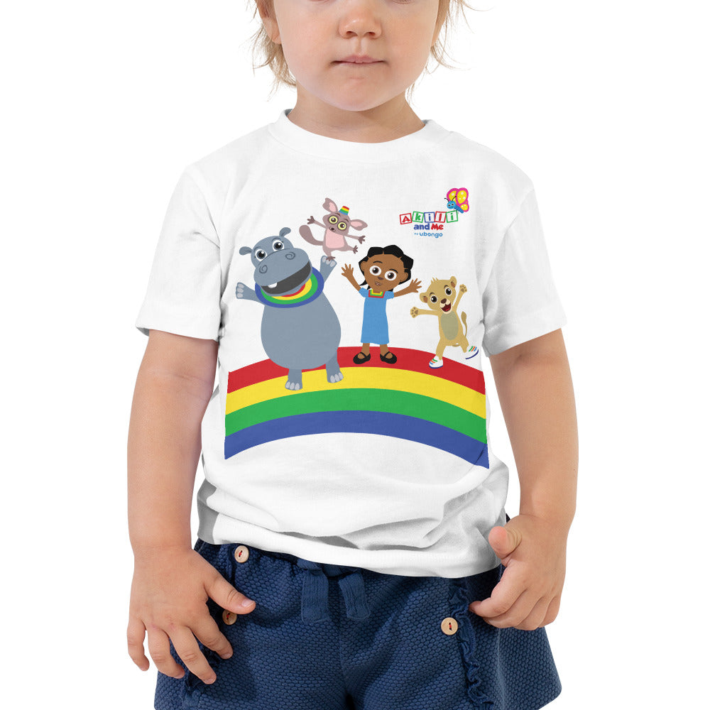 Akili & Friends Short Sleeve Toddler Tee
