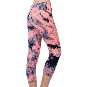 Printed 3/4 leggings