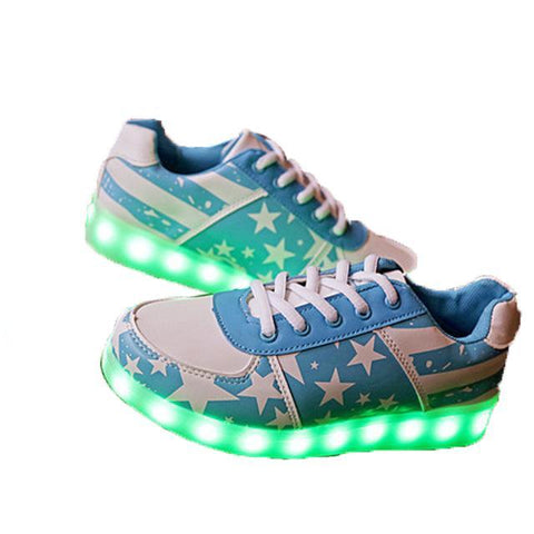 Glowing Fashion Sneakers