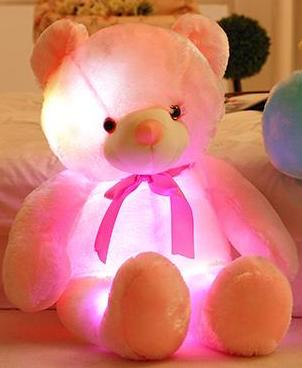 Light Up LED Teddy Bear - Glowsery