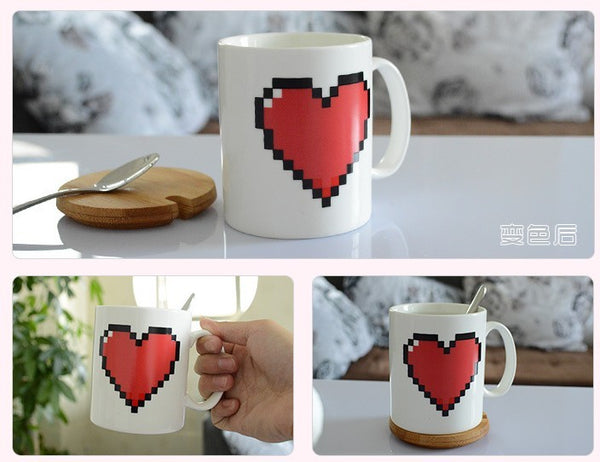 VALENTINES DAY MAGIC MUG - Glowsery