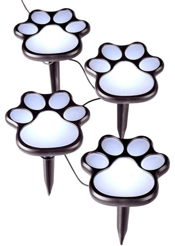 Animal Paw 100% Solar Powered 4LED Lights