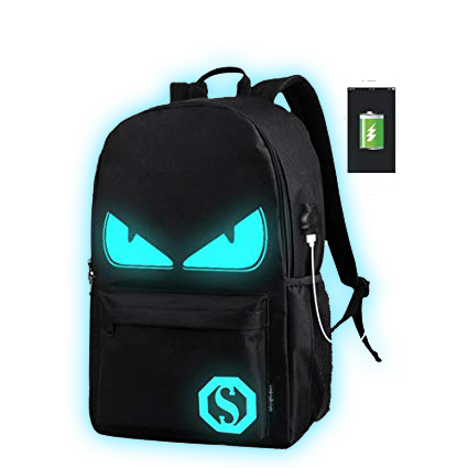 Glow In The Dark Demon Backpack(Free Gifts)