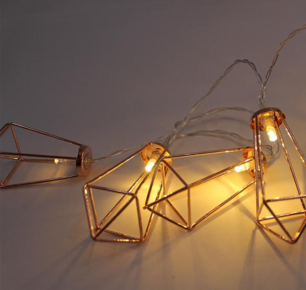 Novelty Fairy Lights Metal String - Glowsery