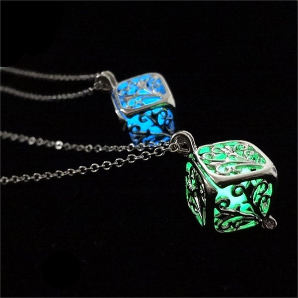 Tree Of Life Dark Luminous Necklaces - Glowsery