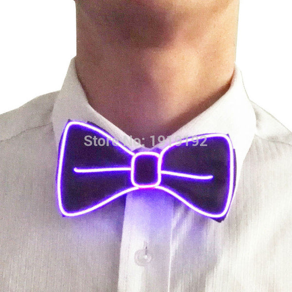 High Qualty Glowing Neck Tie - Glowsery