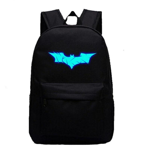 Luminous Batman Backpack