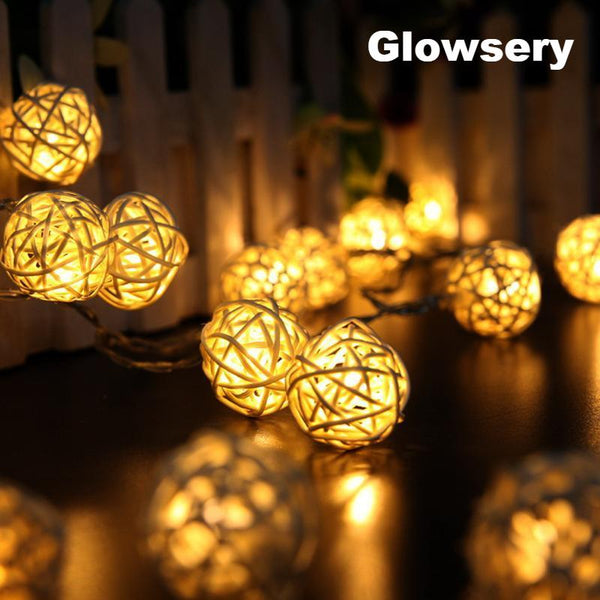 2Meters Of 20 LED Lights String Lights Ball Decoration - Glowsery